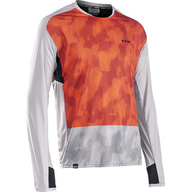 Northwave Edge Long Sleeve Jersey Men, dove gray/ora
